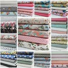 light weight 100 cotton fabric by metre floral dots