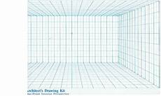 Perspective Graph Paper Point Perspective Grid Paper