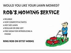 Lawn Mower Flyers Lawn Care Flyer Template Shatterlion Info