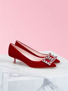 Roger Vivier Size Chart Red Rv Brochamour Pumps Rvw54328000cfe37mr602 In 2020