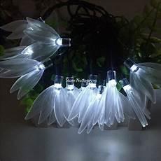 Clover String Lights Waterproof 20ft 6m 30 Led Solar Powered Four Leaf Clover