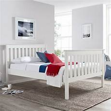 low price mattresses solid pine wooden bed frame 4ft6