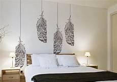 stencil per pareti da letto forest feather stencil scandinavian feather wall decal