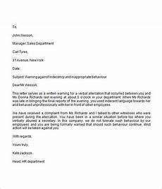 Warning Letter Hr Free 11 Warning Letter Templates In Google Docs Ms Word