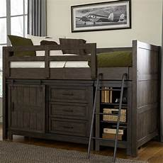 liberty furniture thornwood rustic loft bed