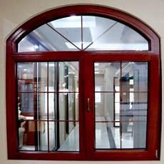 Arch Design Window And Door Round Arch Top Part Aluminum Frame Casement Swing Glass