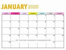 2020 Blank Calendar Pdf 2020 Calendar Printable Pdf In Beautiful Gold Theme