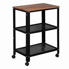 ktaxon industrial end side tables with mesh shelf and