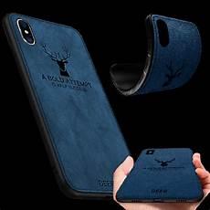 iphone xs taske premium tasche silikon kunstleder blau f 252 r apple iphone xs