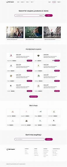 Html Coupon Template Minimal Coupons Html Website Template Web Design Quotes