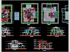 Duplex House (70'x80') Autocad House Plan Drawing Download   Autocad DWG   Plan n Design