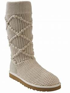 ugg sweater knit boots best cold weather shoes bootsaholic