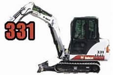 Bobcat X331 Mini Excavator Parts Tracks
