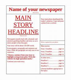 Newspaper Outline For Word 18 News Paper Templates Word Pdf Psd Ppt Free