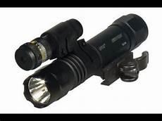 Utg Laser Light Combo Utg Led Flashlight Red Laser Combo Youtube