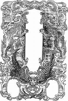 clipart ornate asian frame