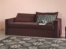 sofa bed with removable cover brick 15 by gervasoni design