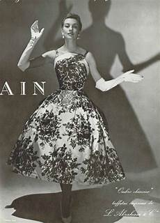 1955 pierre balmain inspirational vintage fashion in