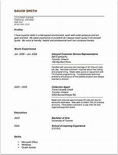 Resume Examples For Jobs With Experience Acting Resume Template No Experience Http Www