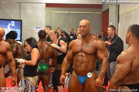 Bodybuilder Martin Kjellstrom
