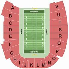Vanderbilt Stadium Seating Chart View Vanderbilt Stadium Seating Chart Amp Maps Nashville