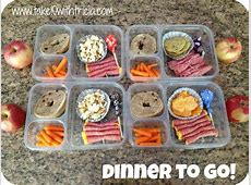 Dinners on the Go   Take 10 With Tricia