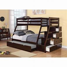 reece bunk bed with storage ladder and