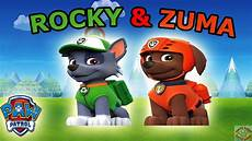 Paw Patrol Malvorlagen Rocky Paw Patrol Rocky Zuma 2016 Coloring Page For