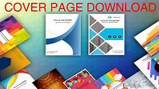Paper Cover Page Template Cover Page In Word Template Download Editable Ready To