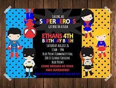 Superhero Invite Template 34 Superhero Birthday Invitation Templates Free Sample