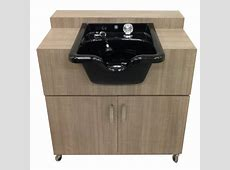 Portable Shampoo Sink Hot & Cold Water   Portable Sink Depot