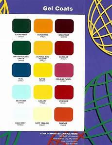 Ccp Gelcoat Color Chart Stuart Marine Corp Gel Coat Colors