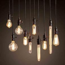 Single Bulb Pendant Light Vintage Edison Bulb Pendant Lamp Bulb Chandeliers Pendant