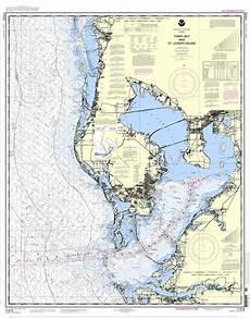 Noaa Chart 13205 Noaa Chart 11412 Tampa Bay And St Joseph Sound