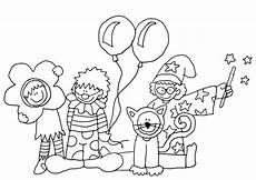 Malvorlagen Kinder Fasching Karneval 03 Ausmalbilder
