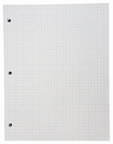 Graph Paper 8x11 School Smart Graph Grid Paper 3 Hole Punched Letter Size