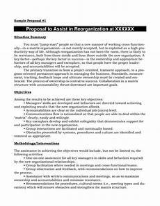 Proposal Sales Sales Job Sample Proposals Templates At