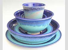 Glazed Dinnerware Sets & China 20pcs Coloured Glaze Dinner