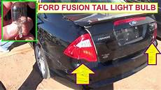 Change Light 2010 Ford Fusion How To Change A Rear Turn Singnel In A 2000 Gmc Sierra