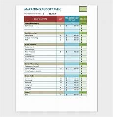 Budget Plan Template 20 Marketing Budget Templates For Excel Pdf Budget Smart