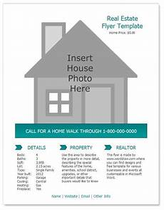 List House For Sale By Owner Free Worddraw Free Real Estate Flyer Template For Microsoft