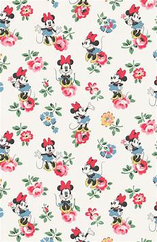 disney pattern iphone wallpaper minnie mews ditsy and minnie linen sprig disney phone