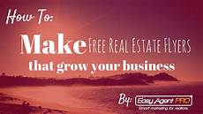 Make Flyers For Free Online How To Make Free Real Estate Flyer Templates In Under 3