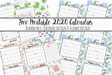 2020 Printable Monthly Calendar With Holidays Free Printable 2020 Bimonthly Calendars With Holidays 2