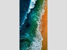 Beach Ocean Waves Sky View iPhone Wallpaper   iPhone