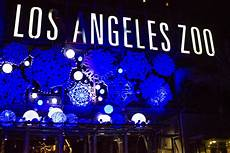 Los Angeles Zoo City Lights La Zoo Lights Pays Tribute To City S History Animal