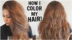 Hair To Light Brown How I Dye My Hair Light Golden Brown At Home How I Color