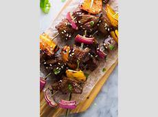 Korean Beef Skewers (Beef Bulgogi)   Sweet Peas and Saffron