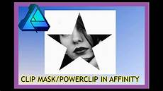Affinity Designer Vector Mask Affinity Designer How To Clipping Mask Powerclip Youtube