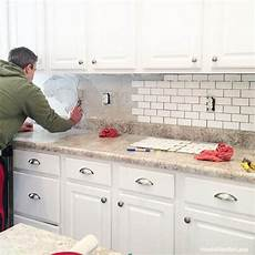 how to install kitchen backsplash tile how to install a kitchen backsplash the best and easiest
